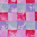 Blocks in Lilac and Pink - 1054